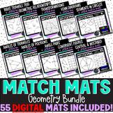 Geometry Digital Match Mats Bundle; 12 Products: 55 Match