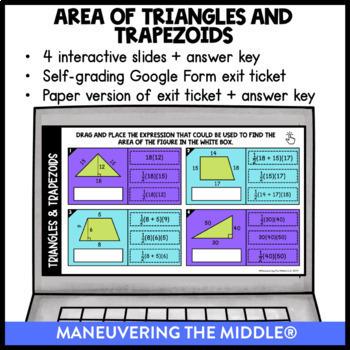Geometry - Digital Math Activities (Distance Learning) Google Slides™