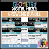 Geometry Digital Mazes (GOOGLE slides) Distance Learning G