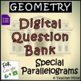 Geometry Digital Question BANK 53 - Special Parallelograms