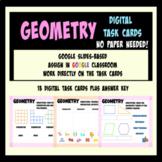 Geometry: Digital Task Cards