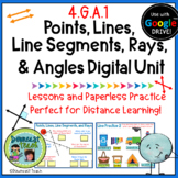 Geometry Digital Unit 1: Points, Lines, Line Segments, Ray
