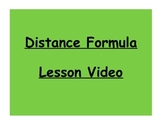 Geometry Distance Formula Lesson Video