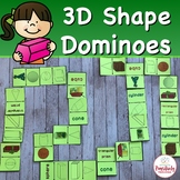 Geometry Activity 3D Shapes Dominoes