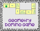 Geometry Dominoes - Practice Vocabulary (Great for ELs)