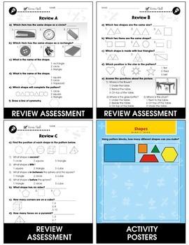 Geometry - Drill Sheets Gr. PK-2