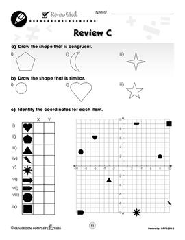 Geometry: Drill Sheets Vol. 2 Gr. 3-5