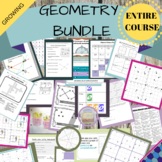 Geometry - ENTIRE COURSE (Growing Bundle)!!