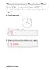 Geometry EOC Quiz - Arc Length and Radian Measure BUNDLE