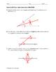 Geometry EOC Quiz - Basic Constructions BUNDLE