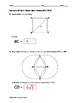Geometry EOC Quiz - Special Right Triangles BUNDLE