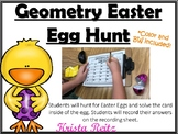 Geometry Easter Egg Hunt {protractor, symmetry, comp. sup.