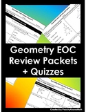 Geometry End of Course (EOC) Review Packets & Quizzes