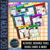 Geometry EOC Review Bundle: 6 Activities, 2 Tools, Doodle