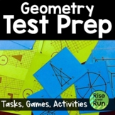 End of Year: Geometry Activities Bundle