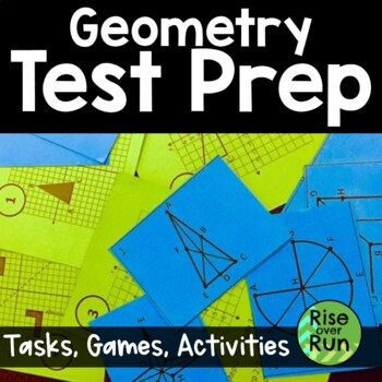 End of Year: Geometry Activities Bundle