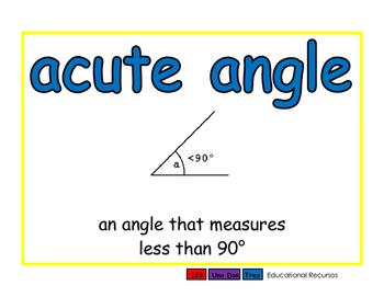 Geometry English 2-way blue