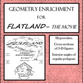 Geometry Enrichment for Flatland - the Movie
