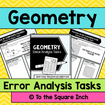 Geometry Error Analysis