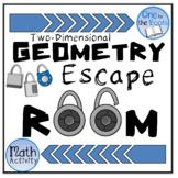 6th Grade Math Escape Room - Geometry