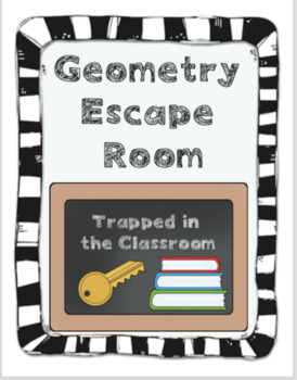 Geometry Escape Room: Logic and Proof
