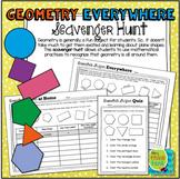 Geometry Everywhere: 2D Shapes Scavenger Hunt