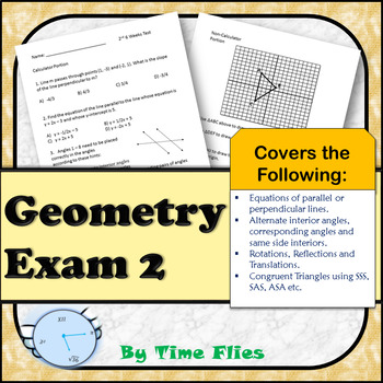 Geometry Exam 2
