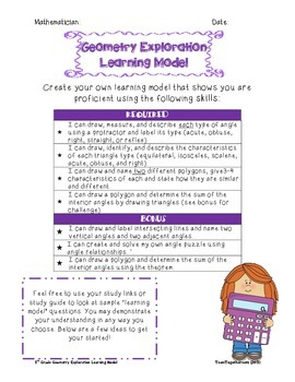 Geometry Exploration Learning Model