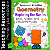 Geometry Lessons, Activities, and Printables (Includes Edi