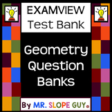 Geometry Exterior Angles of Triangles Test Bank .BNK  for ExamView