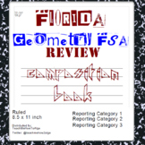 Geometry FSA Standard Test Practice Composite Notebook - Florida