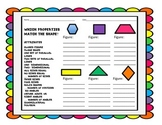 Geometry- Figure Attributes