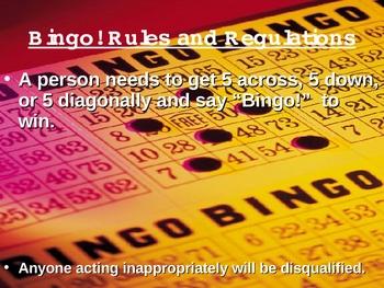Geometry Figures Bingo