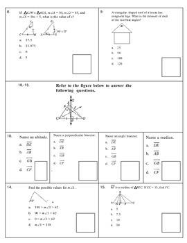 Geometry Final