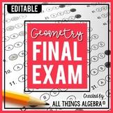 Geometry Final Exam