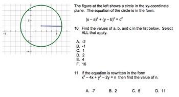 Geometry Final Exam - PARCC EOY Practice Test - common core