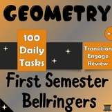 Geometry First Semester Bellringers