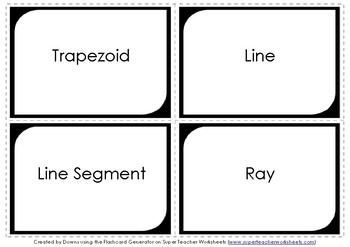 Geometry Flashcards