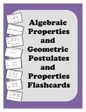 Geometry Flashcards: Beginning Properities and Postulates