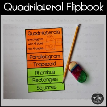 Geometry Flipbooks for Polygons and Quadrilaterals