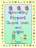 Geometry Flippers - Shapes, Lines, and Angles