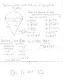 Geometry Foldable for Area, Volume, and Surface Area