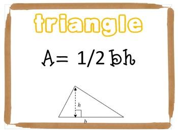 Geometry/Formula Posters