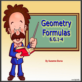 Geometry Formulas PowerPoint: 6.G.1-4