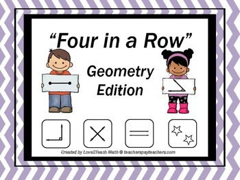 """Geometry """"Four In a Row"""" Game"""