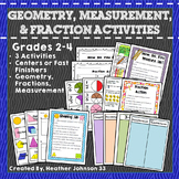 Geometry, Fractions, and Measurement Activities