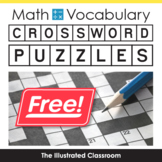 Free Math Worksheets Geometry Crossword Puzzles