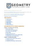 Geometry Full Lesson Math Videos