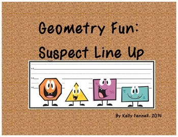 Geometry Fun: Suspect Line-up