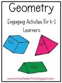 First Grade Geometry